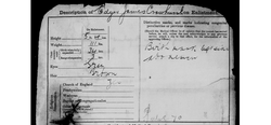 Edgar Crowhurst Signing Up Papers 3