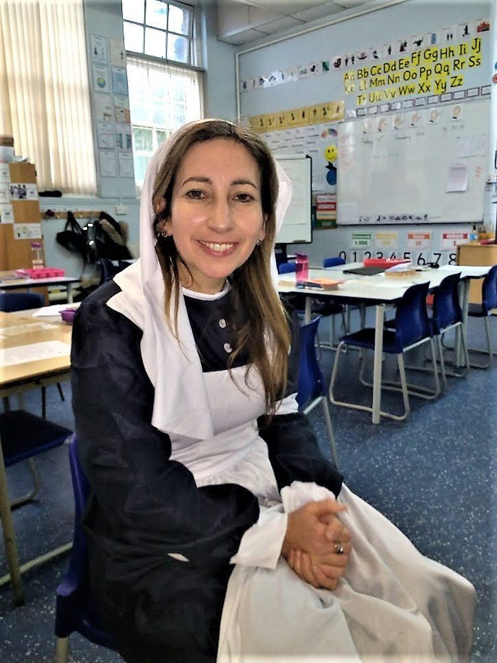 Sam Lierens at Bournemouth Park Primary