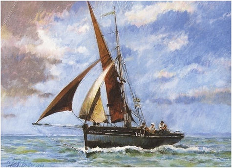 Endeavour limitied Edition Print, Leigh-on-Sea Endeavour Trust