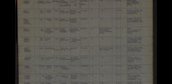 Samuel Gage RN record of death