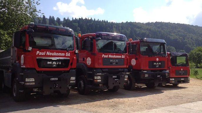 Pau Neukomm | camions | véhicules | parc machines | 2716 Sornetan | Petit-Val
