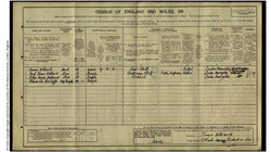 Hilleary Familty Census 1911
