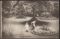 The Garden Alexandra College Postcard