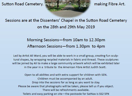 Half Term Art at the Dissenters' Chapel