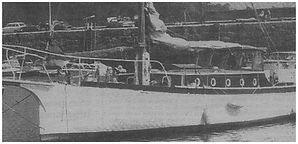 The Defender was one of the 'Little Ships' used at the Dunkirk evacuation in1940