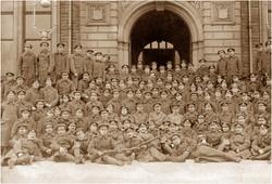 IoW Rifles basic training 1915