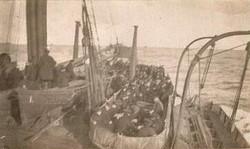 SS_Dwinsk lifeboat drill