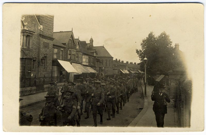 Isle Of Wight Rifles 1915 Before Going To Galipoli 02