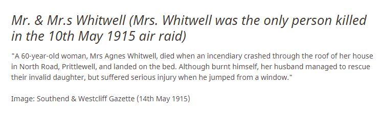 Agnes Whitwell Photo info