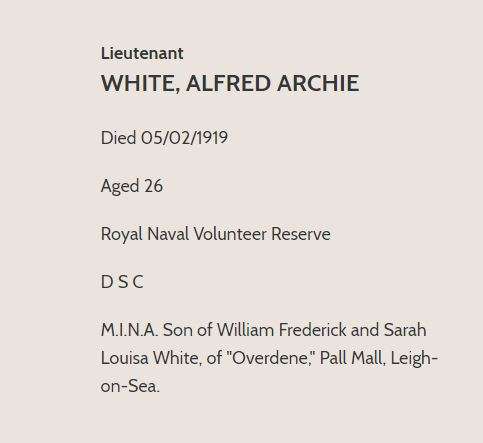 Alfred White CWGC 4