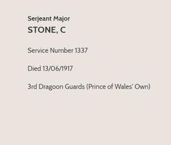Charles Stone CWGC