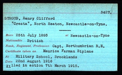 Henry Stroud Death Record 2