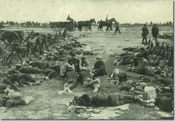 ww1 troop resting