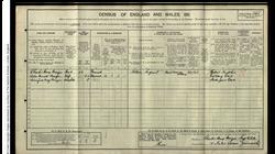 CH Brazier 1911 census