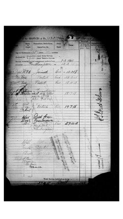 CG Baker Enlistment Form