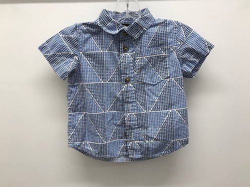 12-18 M Tea Collection Boys Short Sleeve Button Down