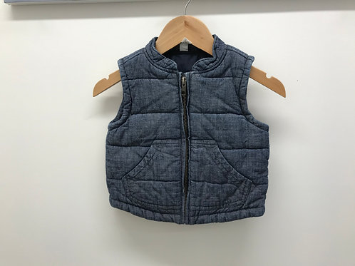 12-18 M Tea Collection Boys Chambray Vest