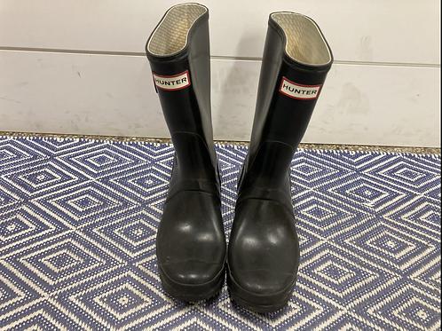 Hunter Original Gloss Short Boots-Size Women's 7