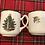 Thumbnail: Cuthbertson Original Christmas Tree Mug (Narrow Green Band)