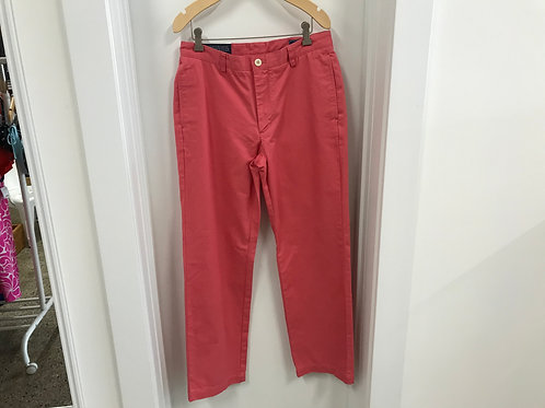 30 x 30 Vineyard Vines Men's Club Pants Jetty Red