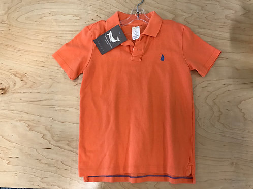 6/7 Y Crewcuts Boys Orange Polo