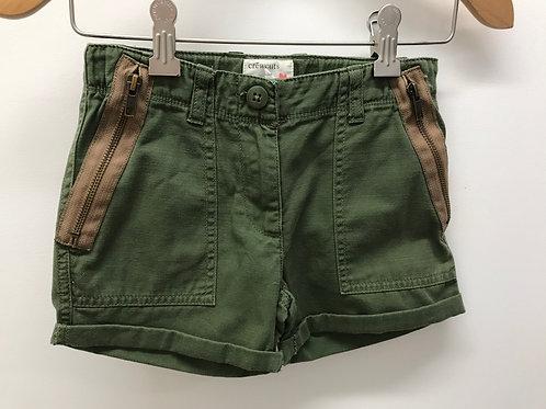 6 Y Crewcuts Girls Green Shorts