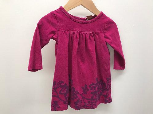 3-6 M Tea Collection Girls Pink Dress