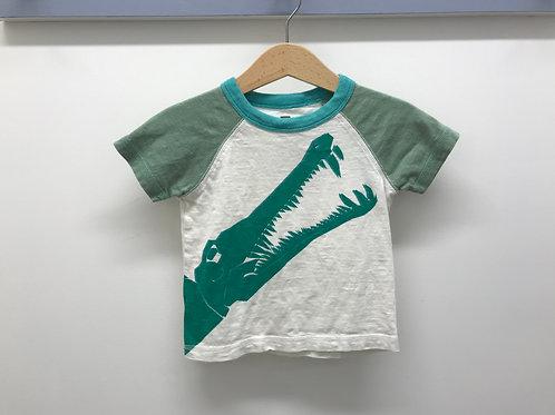6-12 M Tea Collection Alligator Graphic Boys T-Shirt