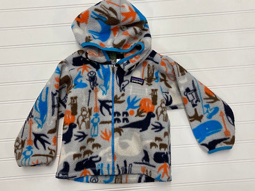 Patagonia Hooded Fleece Jacket- Size 2 T