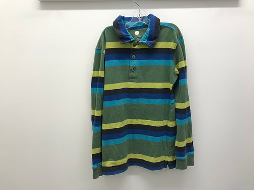 8 Y Tea Collection Boys Long Sleeve Polo