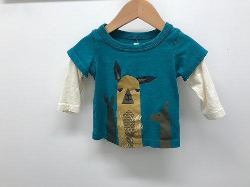 3-6 M Tea Collection Boys Long Sleeve T-Shirt