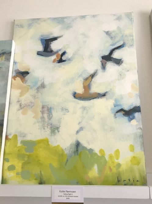 "Katie Flermoen- Taking Flight II  18"" x 24"""