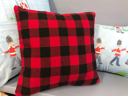 Buffalo Check Flannel Pillow