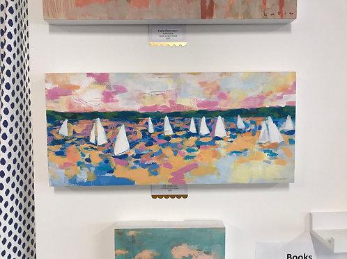 "Sails I ""Sherbet Sky"" by Katie Flermoen"