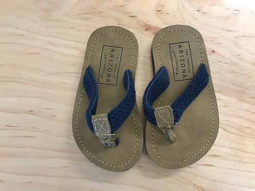5-6 Toddler Arizona Navy Braided Flip Flop