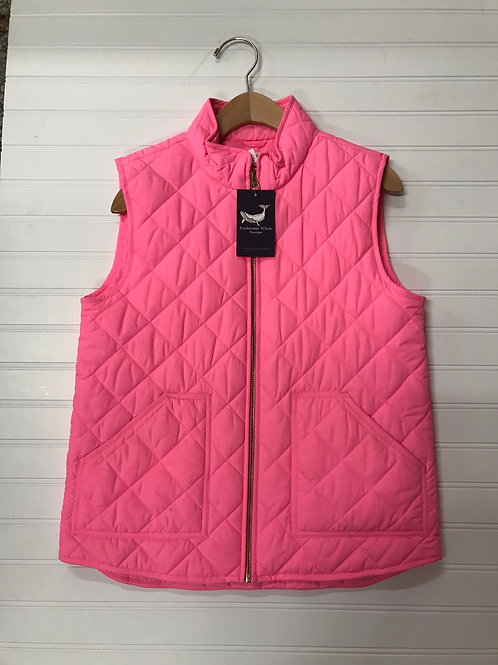 Crewcuts Quilted Vest-Size 14Y