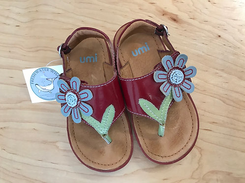 8-8.5 Umi Toddler Girl Flower Sandals