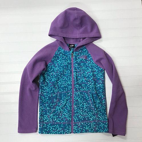 The North Face Full Zip Fleece Hoodie- Size 6Y