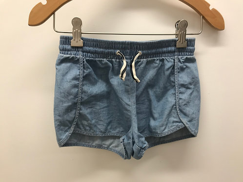 7 Y Crewcuts Girls Chambray Shorts