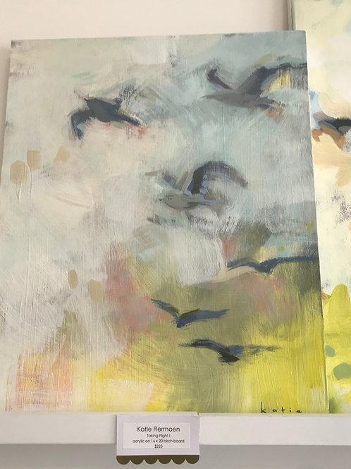 "Katie Flermoen- Taking Flight I    16"" x 20"""