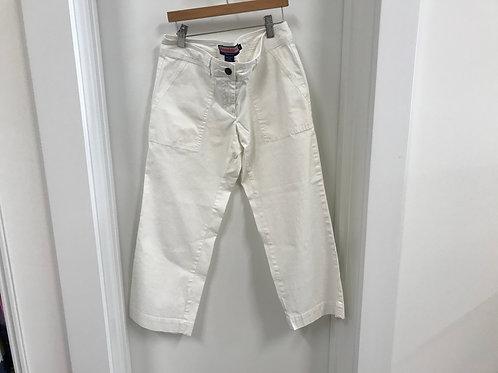 Women's 0 Vineyard Vines White Capri Pants