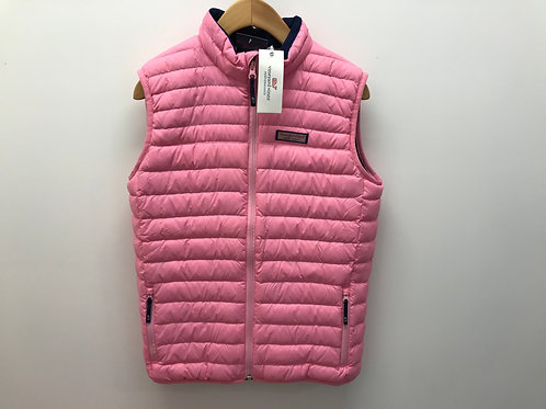 Youth XL Vineyard Vines Girls Pink Vest