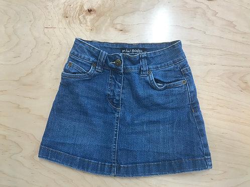 5-6 Y mini Boden Girls Denim Skirt