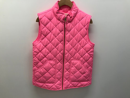 14 Y Crewcuts Girls Pink Quilted Vest