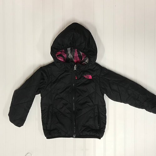 The North Face Reversible Puffer Jacket-Size 3 T