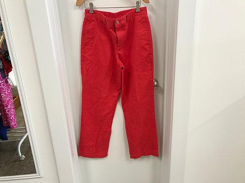 16 Vineyard Vines Boys Red Breaker Pants