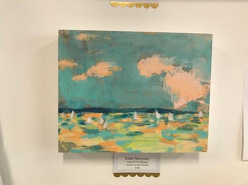 "Sails Mini XVI ""Breeze"" by Katie Flermoen"