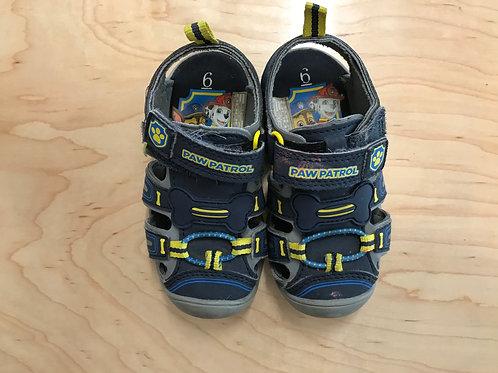 6 Boys Toddler Paw Patrol Sandal