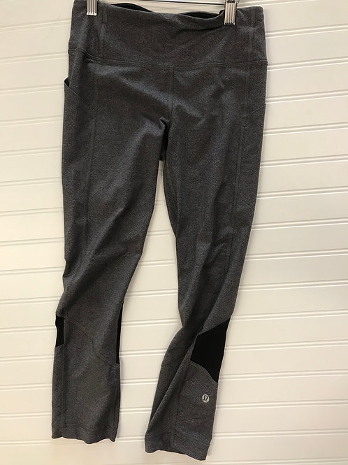 Lululemon Women's Capri Side-Pocket Athletic Leggings -Size 4