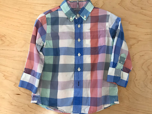 2 T Crewcuts Boys Long Sleeve Button Down